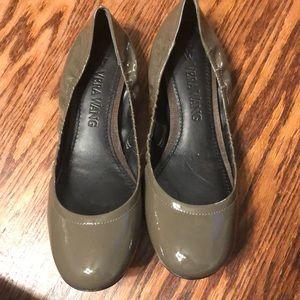 Vera Wang patent leather ballet flats